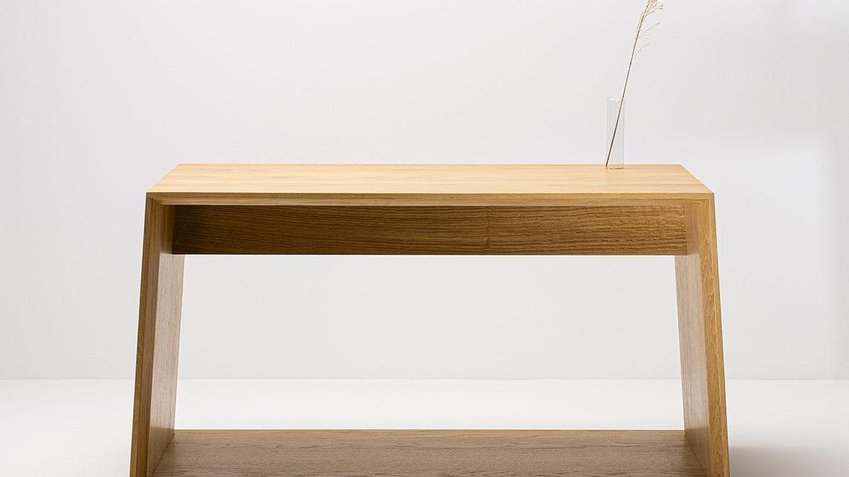 Anouk: la table basse design éco-conçue de Delavelle