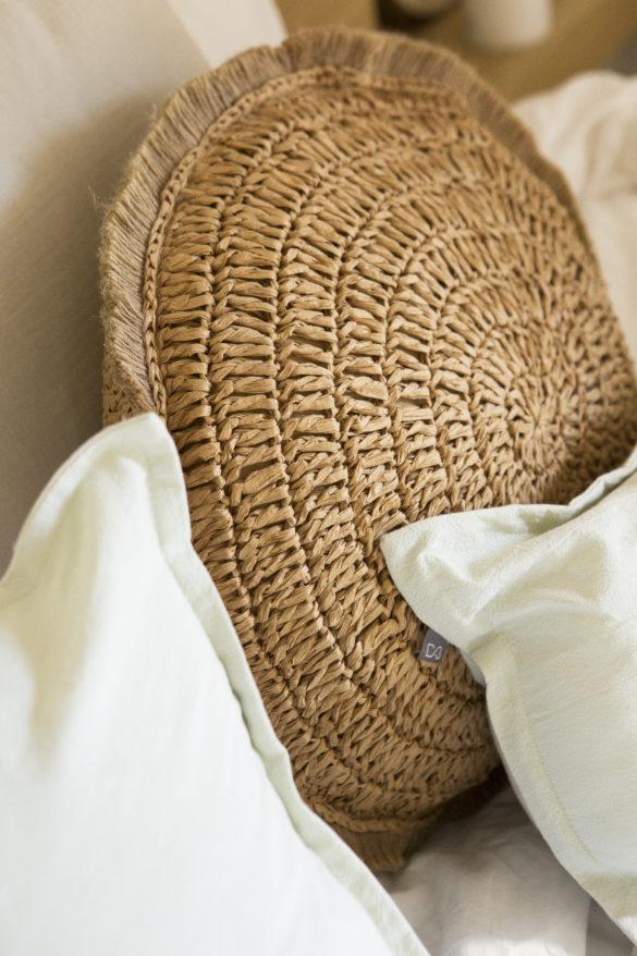 Coussin fibres naturelles - 22,99€