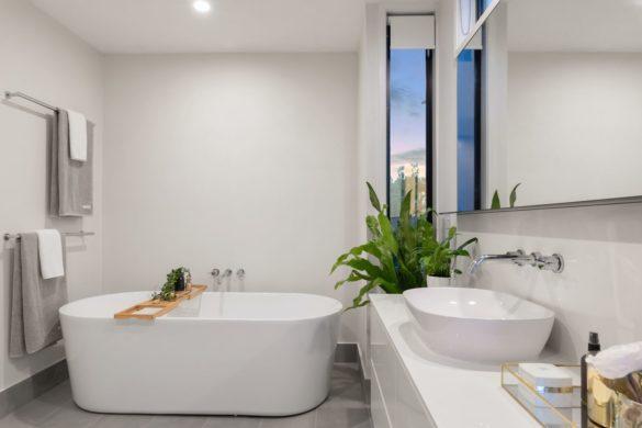 salle de bain déco blanc